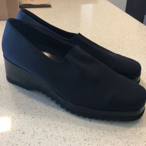 👉🏻PAUL GREEN Munchen Navy Loafers 29912 size 8